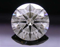 0.727 ct I IF A CUT ABOVE® Hearts and Arrows Super Ideal Round Cut Loose Diamond