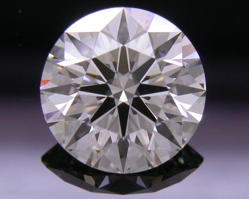 0.741 ct H VVS1 A CUT ABOVE® Hearts and Arrows Super Ideal Round Cut Loose Diamond