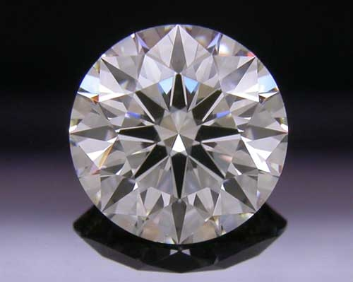 0.744 ct J VS2 A CUT ABOVE® Hearts and Arrows Super Ideal Round Cut Loose Diamond