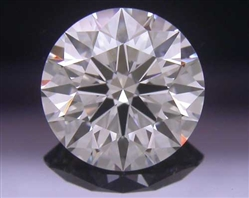 0.745 ct H VS1 A CUT ABOVE® Hearts and Arrows Super Ideal Round Cut Loose Diamond