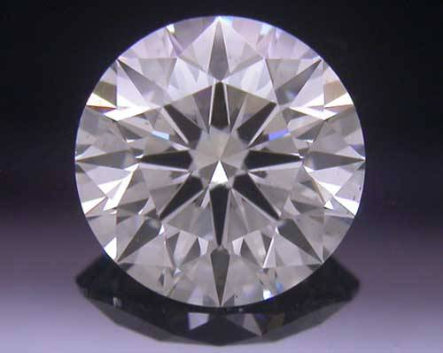 0.761 ct H SI1 A CUT ABOVE® Hearts and Arrows Super Ideal Round Cut Loose Diamond