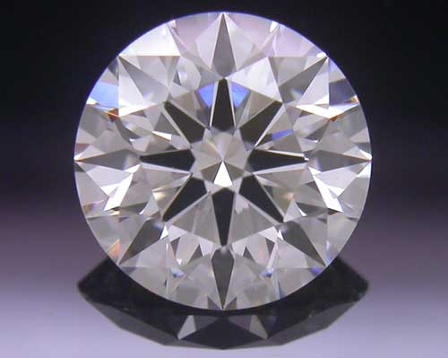 0.733 ct H SI1 A CUT ABOVE® Hearts and Arrows Super Ideal Round Cut Loose Diamond