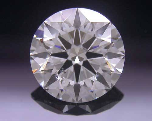 0.734 ct G SI2 A CUT ABOVE® Hearts and Arrows Super Ideal Round Cut Loose Diamond