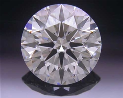 0.744 ct F VS2 A CUT ABOVE® Hearts and Arrows Super Ideal Round Cut Loose Diamond