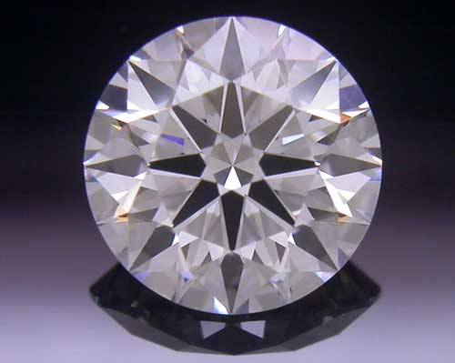 0.731 ct F SI1 A CUT ABOVE® Hearts and Arrows Super Ideal Round Cut Loose Diamond