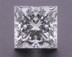 1.09 ct F VVS2 A CUT ABOVE® Princess Super Ideal Cut Diamond