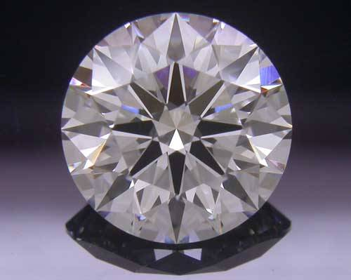 1.044 ct H SI1 A CUT ABOVE® Hearts and Arrows Super Ideal Round Cut Loose Diamond