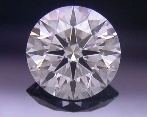 0.397 ct F SI1 A CUT ABOVE® Hearts and Arrows Super Ideal Round Cut Loose Diamond
