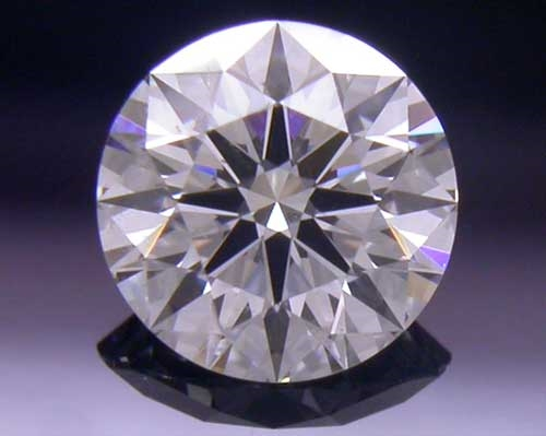 0.396 ct G SI1 A CUT ABOVE® Hearts and Arrows Super Ideal Round Cut Loose Diamond