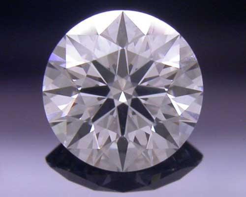0.396 ct F SI1 A CUT ABOVE® Hearts and Arrows Super Ideal Round Cut Loose Diamond