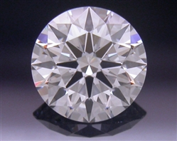 0.395 ct F VS1 A CUT ABOVE® Hearts and Arrows Super Ideal Round Cut Loose Diamond