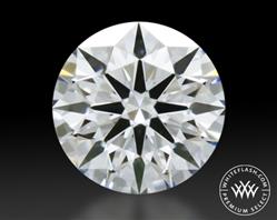 0.333 ct F VS2 Premium Select Round Cut Loose Diamond