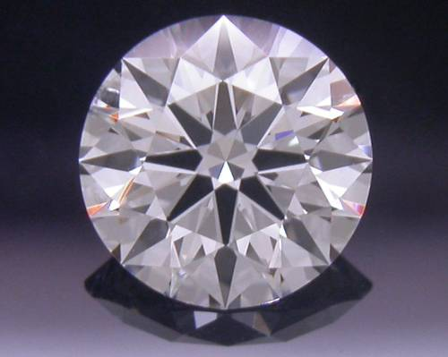 0.39 ct F SI2 A CUT ABOVE® Hearts and Arrows Super Ideal Round Cut Loose Diamond