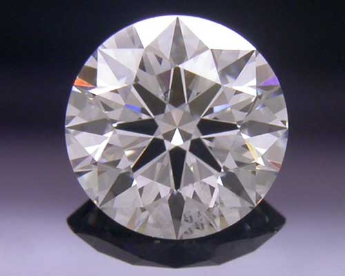 0.552 ct I SI1 A CUT ABOVE® Hearts and Arrows Super Ideal Round Cut Loose Diamond
