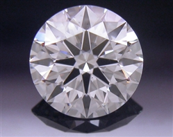 0.555 ct G VS2 A CUT ABOVE® Hearts and Arrows Super Ideal Round Cut Loose Diamond