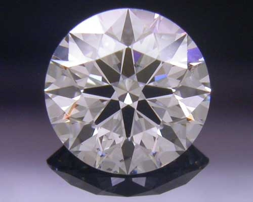 0.586 ct H SI1 A CUT ABOVE® Hearts and Arrows Super Ideal Round Cut Loose Diamond