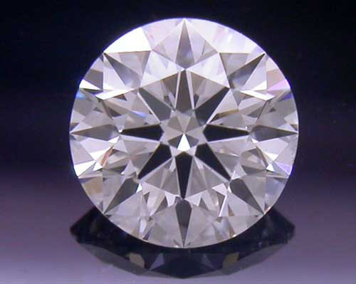 0.331 ct F SI1 A CUT ABOVE® Hearts and Arrows Super Ideal Round Cut Loose Diamond