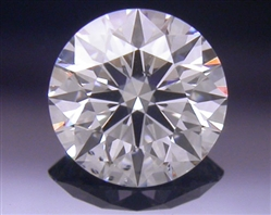 0.326 ct F SI1 A CUT ABOVE® Hearts and Arrows Super Ideal Round Cut Loose Diamond