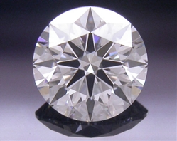 0.342 ct E VS2 A CUT ABOVE® Hearts and Arrows Super Ideal Round Cut Loose Diamond