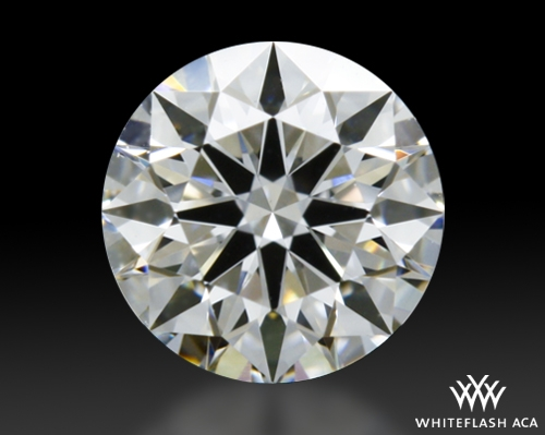 0.338 ct F VS1 A CUT ABOVE® Hearts and Arrows Super Ideal Round Cut Loose Diamond