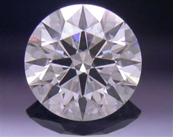 0.391 ct F SI2 A CUT ABOVE® Hearts and Arrows Super Ideal Round Cut Loose Diamond