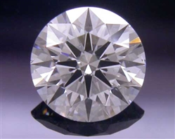0.40 ct F SI2 A CUT ABOVE® Hearts and Arrows Super Ideal Round Cut Loose Diamond