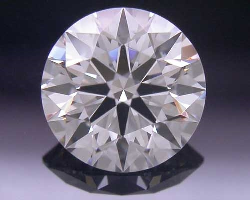 0.528 ct G VS2 A CUT ABOVE® Hearts and Arrows Super Ideal Round Cut Loose Diamond