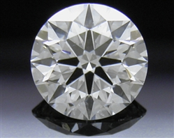 0.535 ct E VS2 A CUT ABOVE® Hearts and Arrows Super Ideal Round Cut Loose Diamond