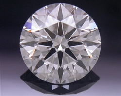 0.581 ct J VS1 A CUT ABOVE® Hearts and Arrows Super Ideal Round Cut Loose Diamond