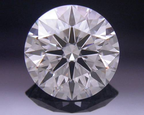 0.527 ct F VVS1 A CUT ABOVE® Hearts and Arrows Super Ideal Round Cut Loose Diamond