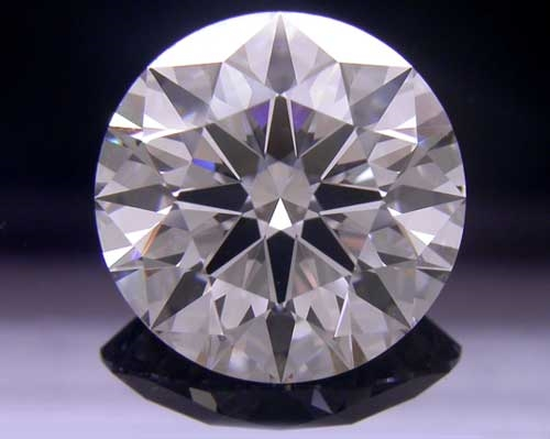 3.097 ct F VVS1 A CUT ABOVE® Hearts and Arrows Super Ideal Round Cut Loose Diamond