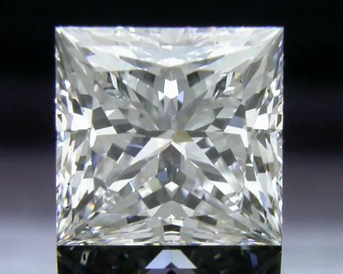 1.122 ct F SI1 A CUT ABOVE® Princess Super Ideal Cut Diamond