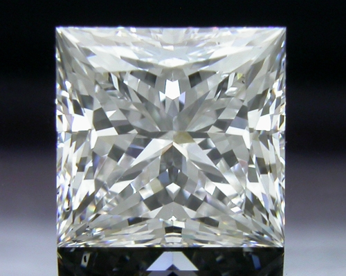 1.122 ct F SI1 A CUT ABOVE® Princess Super Ideal Cut Diamond