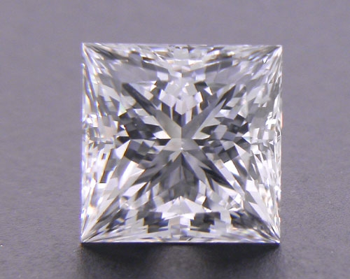 1.054 ct F VVS1 A CUT ABOVE® Princess Super Ideal Cut Diamond