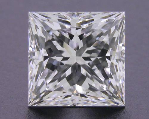 1.17 ct E VS2 A CUT ABOVE® Princess Super Ideal Cut Diamond