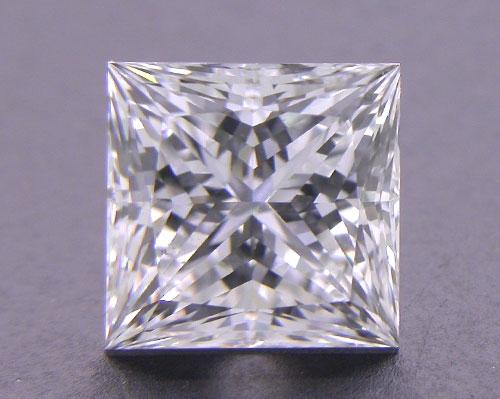 1.058 ct E VS2 A CUT ABOVE® Princess Super Ideal Cut Diamond