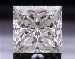 1.104 ct H SI1 A CUT ABOVE® Princess Super Ideal Cut Diamond