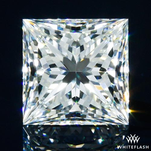 1.035 ct H VS2 A CUT ABOVE® Princess Super Ideal Cut Diamond
