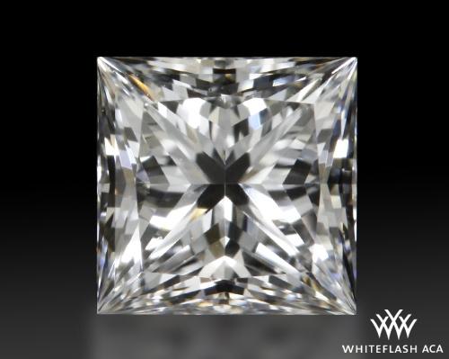 0.54 ct E VS2 A CUT ABOVE® Princess Super Ideal Cut Diamond