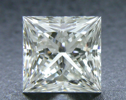 0.546 ct J VVS1 A CUT ABOVE® Princess Super Ideal Cut Diamond