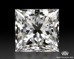 0.523 ct F VS2 A CUT ABOVE® Princess Super Ideal Cut Diamond