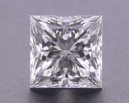 0.728 ct H SI2 A CUT ABOVE® Princess Super Ideal Cut Diamond