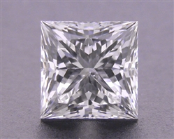 0.728 ct H SI2 A CUT ABOVE® Princess Super Ideal Cut Diamond