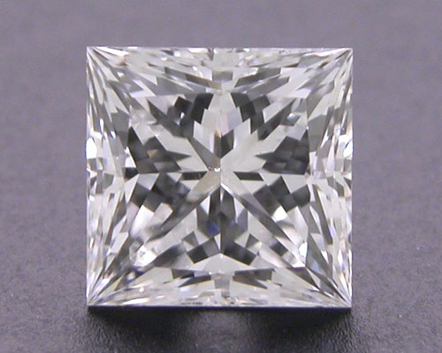 0.512 ct E VS2 A CUT ABOVE® Princess Super Ideal Cut Diamond