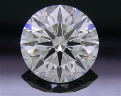 1.061 ct F VS1 A CUT ABOVE® Hearts and Arrows Super Ideal Round Cut Loose Diamond