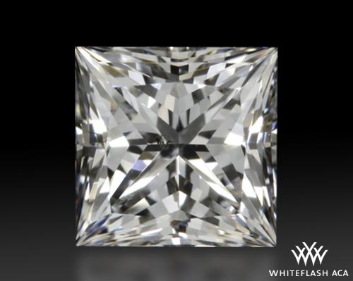 0.51 ct F SI2 A CUT ABOVE® Princess Super Ideal Cut Diamond