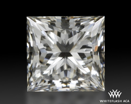 0.518 ct H VVS2 A CUT ABOVE® Princess Super Ideal Cut Diamond