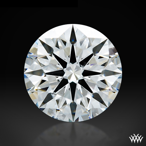 1.071 ct F SI2 A CUT ABOVE® Hearts and Arrows Super Ideal Round Cut Loose Diamond