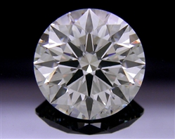 1.68 ct I SI1 A CUT ABOVE® Hearts and Arrows Super Ideal Round Cut Loose Diamond