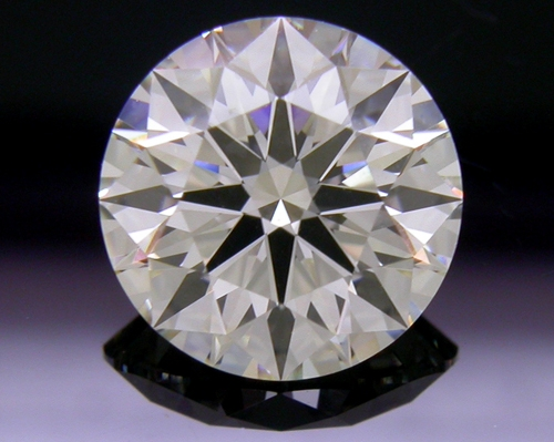 1.59 ct K VS2 A CUT ABOVE® Hearts and Arrows Super Ideal Round Cut Loose Diamond